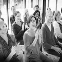 seminář lide se smeji